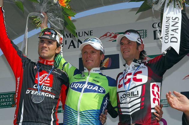 Liege podium 2007