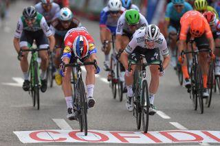 Fabio Jakobsen (Deceuninck-QuickStep) wins the final stage of the 2019 Vuelta a Espana