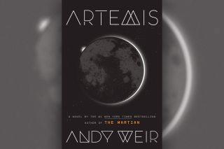 """Artemis"" (2017) by Andy Weir"