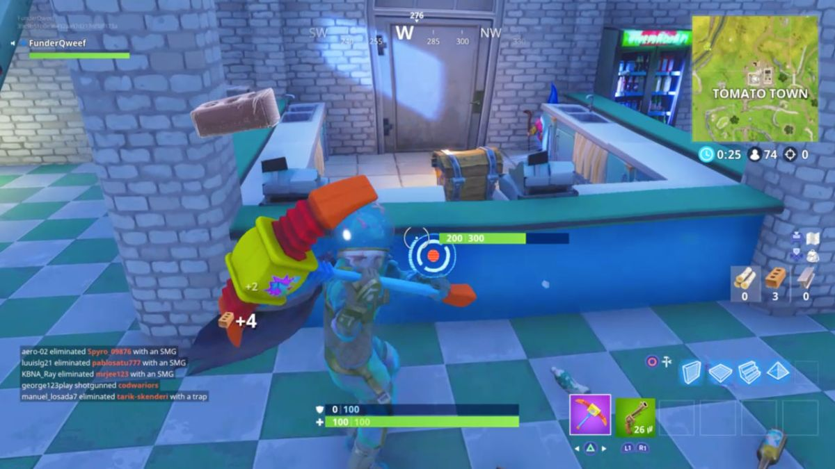 Search Hungry Gnomes in Fortnite - all the Fortnite hungry