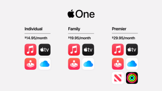 Apple One offers Music, TV, Arcade and iCloud for just $15