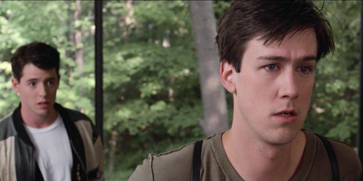 Matthew Broderick and Alan Ruck in Ferris Bueller's Day Off
