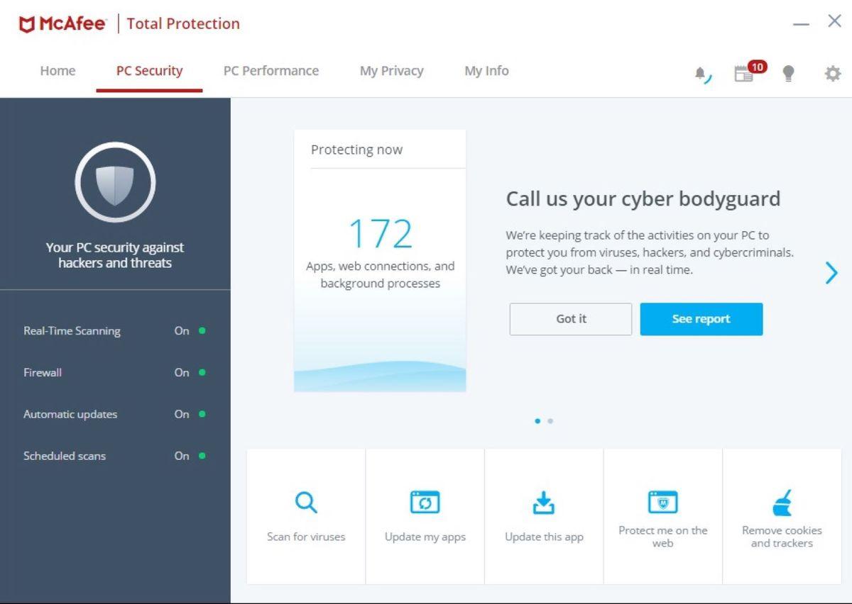 McAfee 2019 Review - McAfee AntiVirus, McAfee AntiVirus Plus