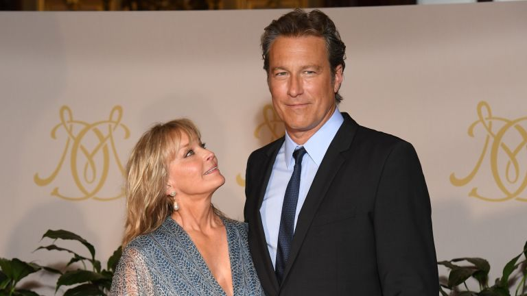 John Corbett and Bo Derek attend the After Party Opening Ceremony of the 57th Monte Carlo TV Festival at the Monte-Carlo Casino on June 16, 2017 in Monte-Carlo, Monaco