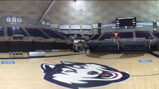 University of Connecticut recently upgraded its Harry A. Gampel Pavilion with a Bose Professional ShowMatch line array loudspeaker system.