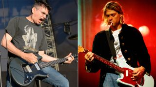 Steve Albini and Kurt Cobain