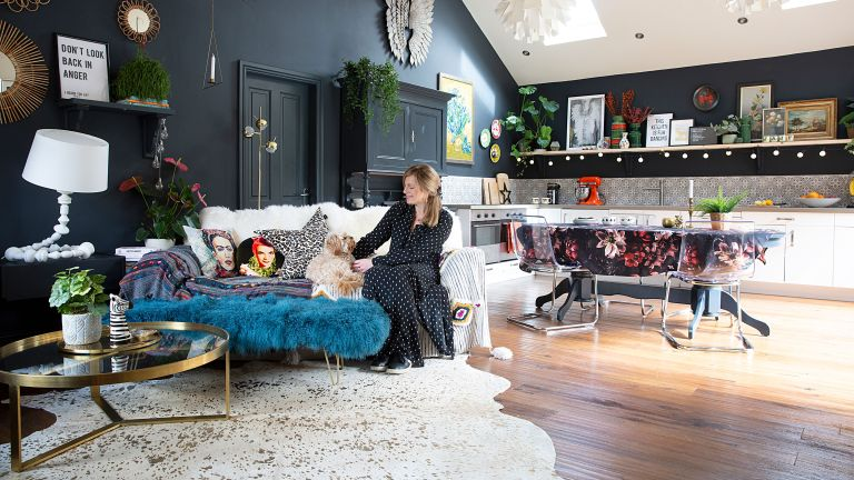 Julia Eldon's Cheshire home is a masterclass in maximalism