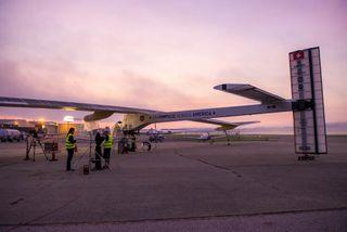 Solar Impulse in Cincinnati, Ohio