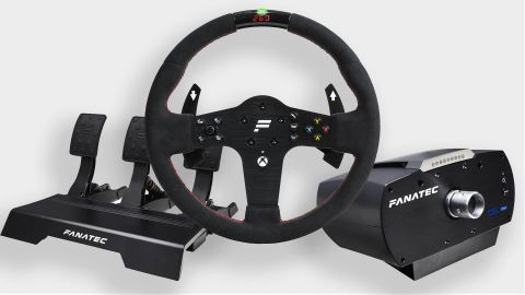 Fanatec CSL Elite racing wheel components
