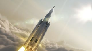 Artist's Concept of Space Launch System
