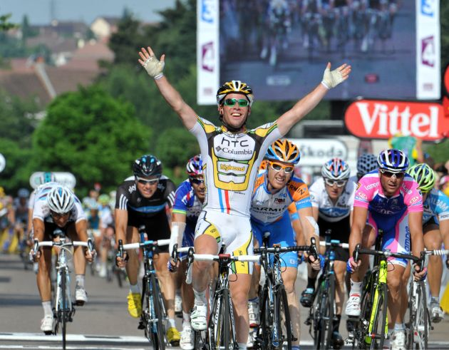 Mark Cavendish wins Tour de France 2010, stage 6