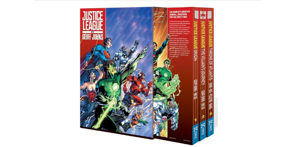 Justice League Comic Box Set