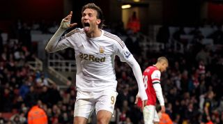 Michu Swansea Arsenal