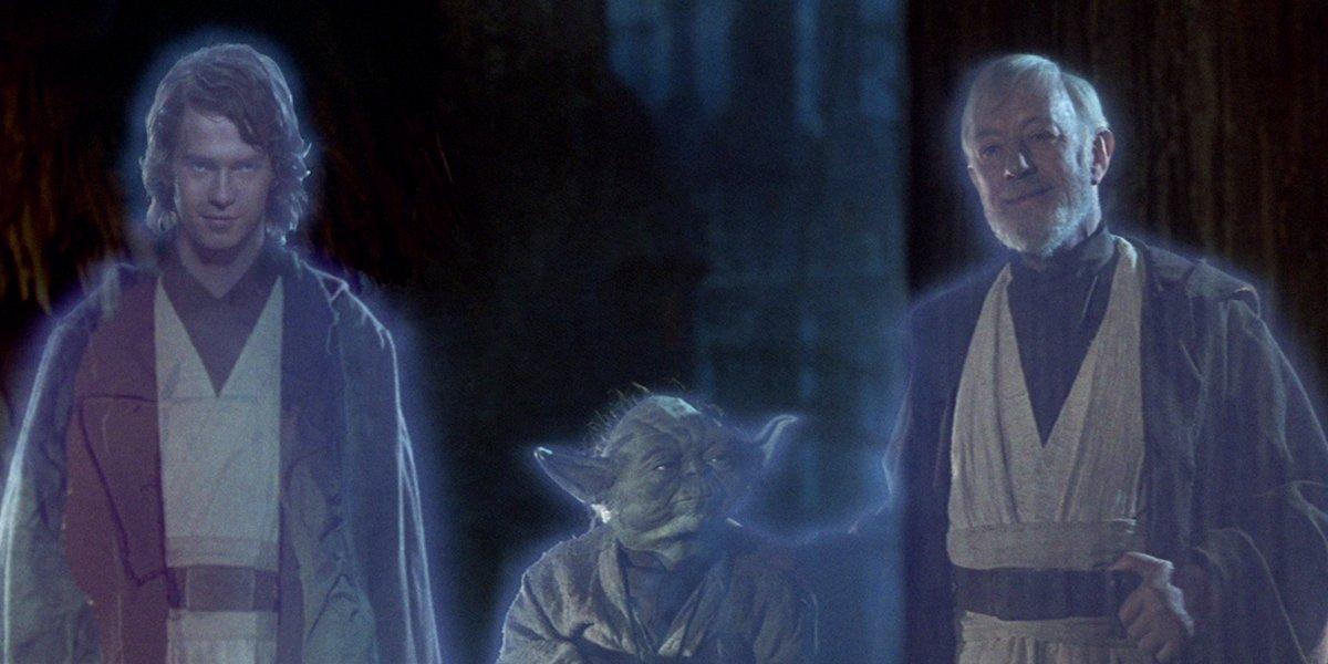 Wait, Force Ghost Yoda And Obi-Wan Were Originally In Return Of The Jedi's Final Battle?