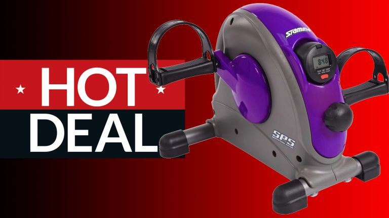 Save $50 on this Stamina mini exercise bike – on sale for $80 at Dick's Sporting Goods.