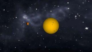 SP 090527 Exoplanet VS