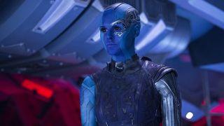 Karen Gillan in Guardians of the Galaxy Vol. 2