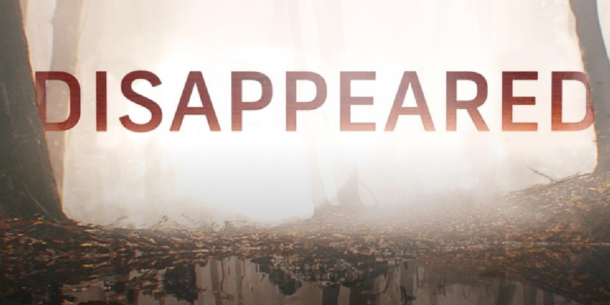 The title screen for Disappeared.