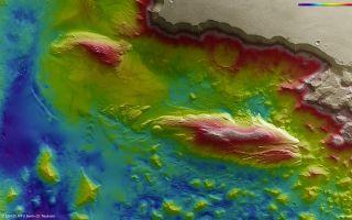 Juventae Chasma Topography