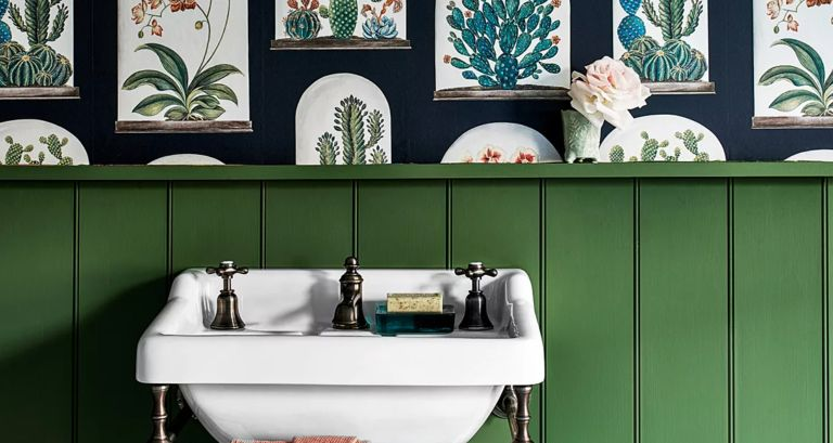 powder room colors that add value
