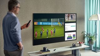Samsung smart TV with Tizen