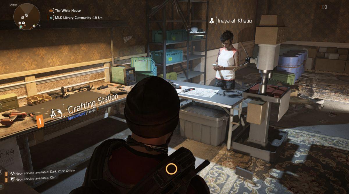Division 2 crafting guide - materials, blueprints, credits