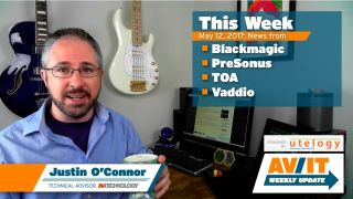 [VIDEO] AV/IT Weekly Update: Blackmagic Duplicator 4K, PreSonus's New Division, TOA N-SP80 Series SIP, Vaddio AV Bridge MatrixMIX AV Switcher