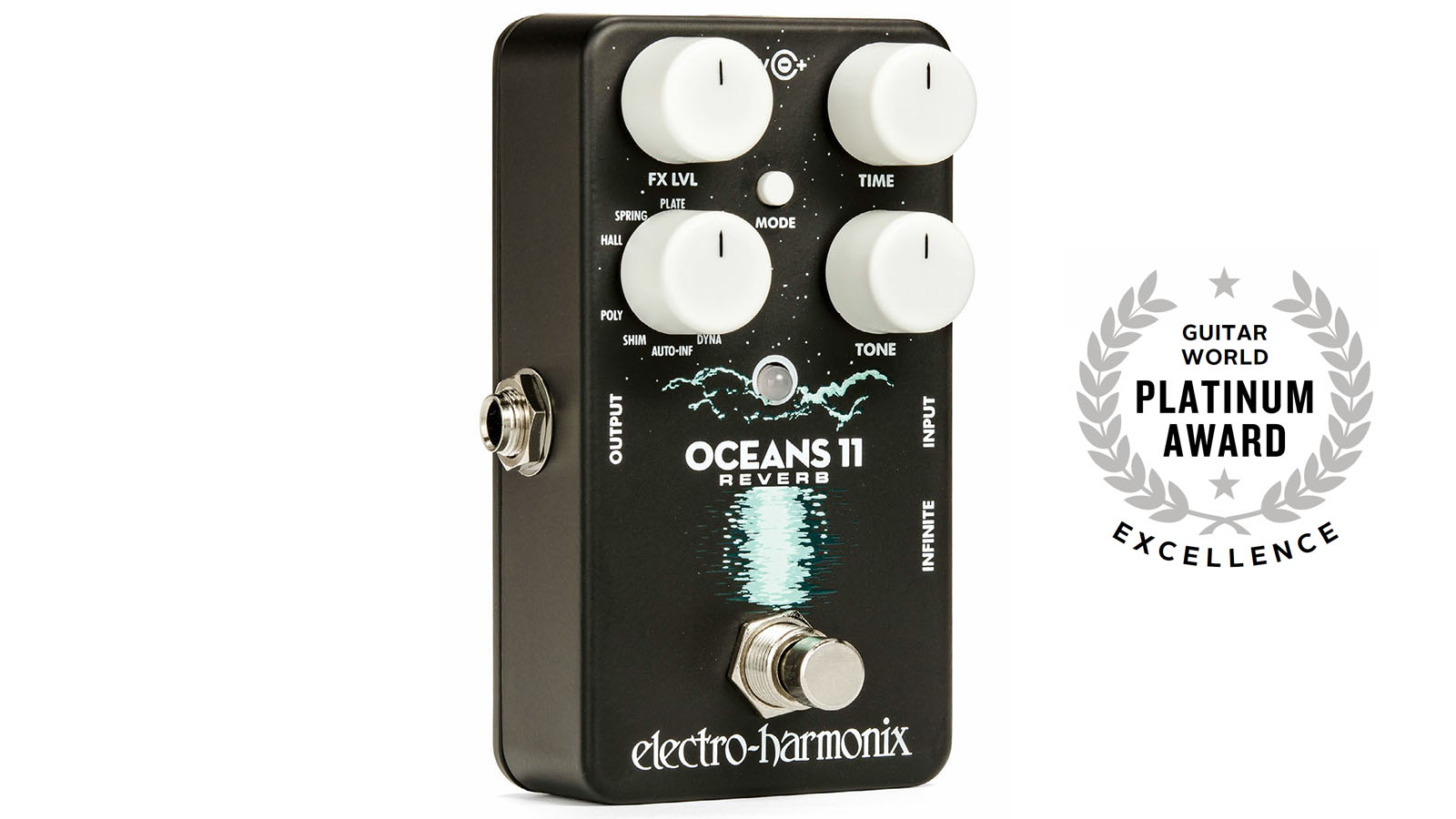 Review Electro Harmonix Oceans 11 Reverb Guitarworld