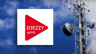 Djezzy logo.