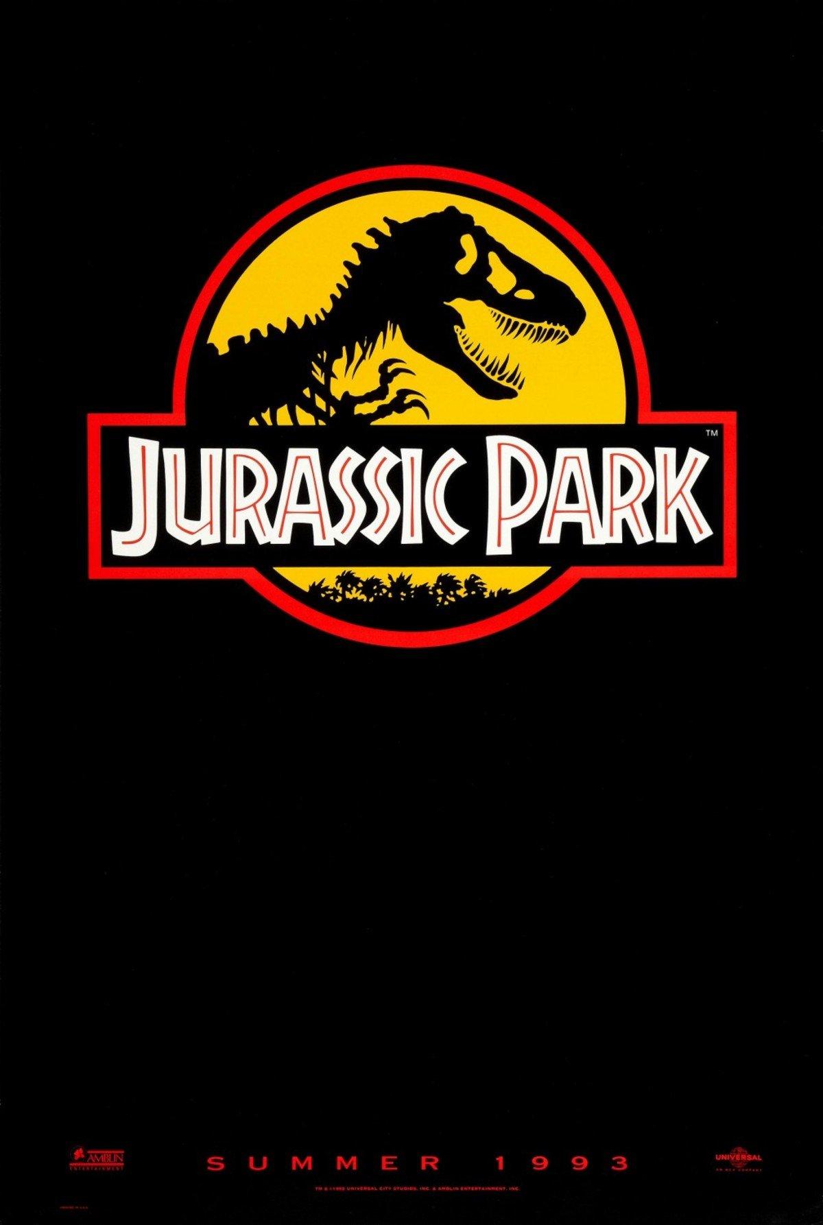 Jurassic Park 1993 teaser trailer