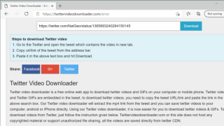 How to save a GIF or video from Twitter