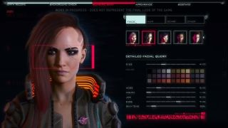 Cyberpunk 2077's character creation options won't be limited