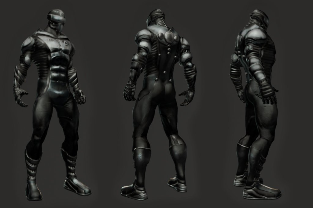 Cancelled The Flash Game Character Models, Screenshots #5813