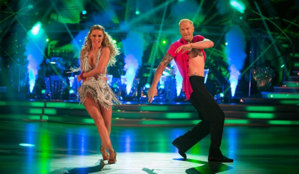 Ola Jordan and Iwan Thomas