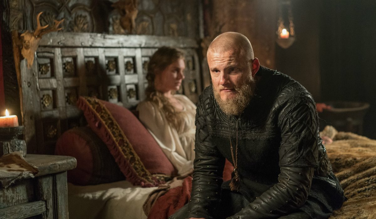 Vikings Gunnhild Ragga Ragnars Bjorn Alexander Ludwig History