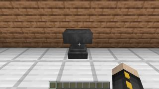 how to make anvil in minecraft