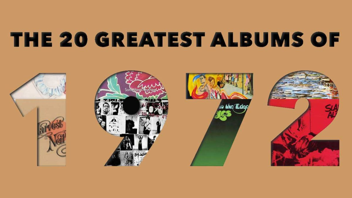 The 20 best rock albums of 1972