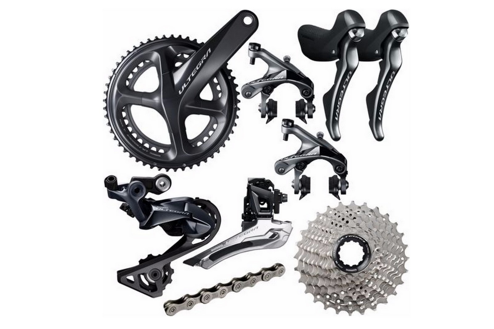 Shimano groupsets Ultegra - R8000 series