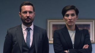 Martin Compston and Vicky McClure in Line of Duty