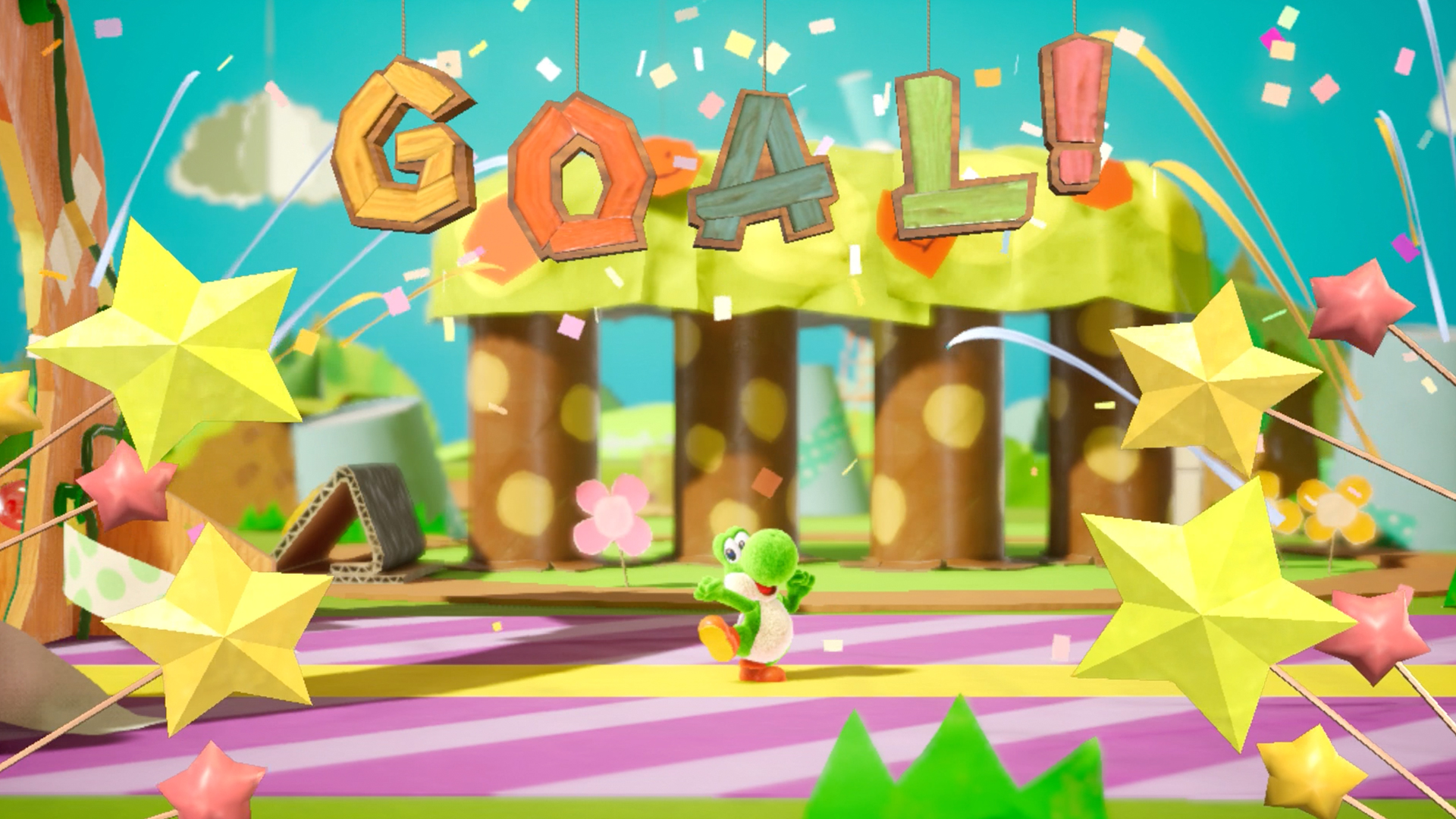 Yoshi's Crafted World demo is out now, and will give you one level