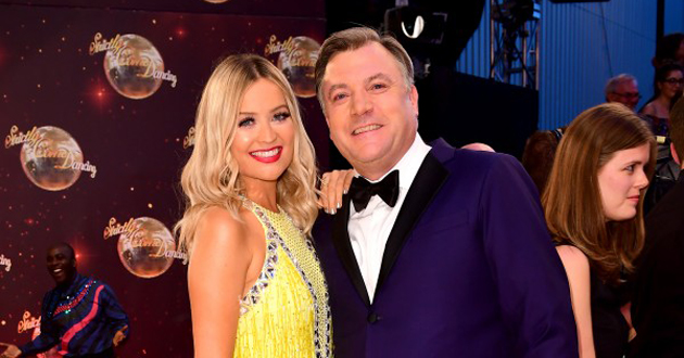 Strictly Laura Whitmore and Ed Balls