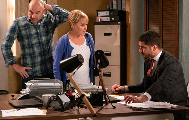 Sally Metcalfe and Tim tell Adam what they think of him.