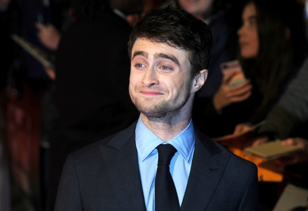Daniel Radcliffe at the Kill Your Darlings premiere