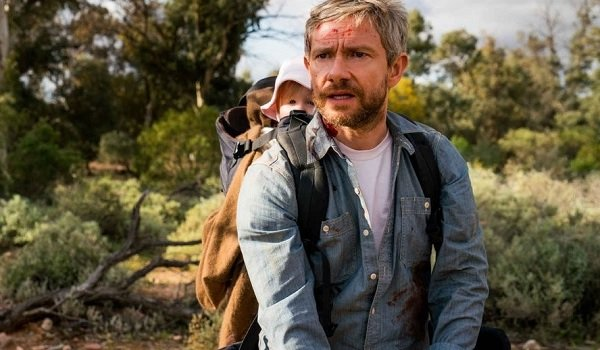 Cargo Martin Freeman wandering around the outback concerned