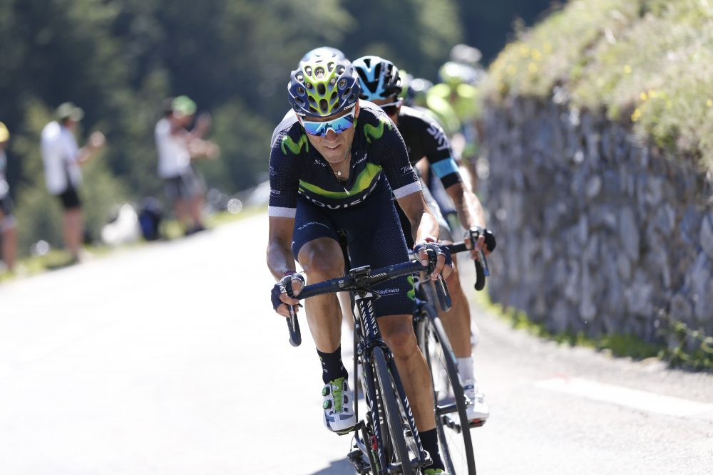 Alejandro Valverde In Action - Image Copyright Sunada - TimeIncUk.Net