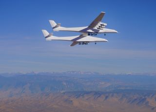 Stratolaunch's Roc carrier plane performed its second-ever test flight on April 29, 2021.