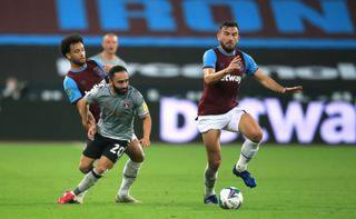 West Ham United v Charlton Athletic – Carabao Cup – Second Round – London Stadium