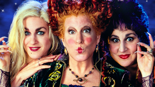 Sarah Jessica Parker, Bette Middler, and Kathy Najimy in Hocus Pocus.