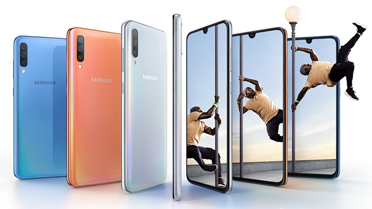 Samsung Galaxy A70 announced with triple-lens camera and in