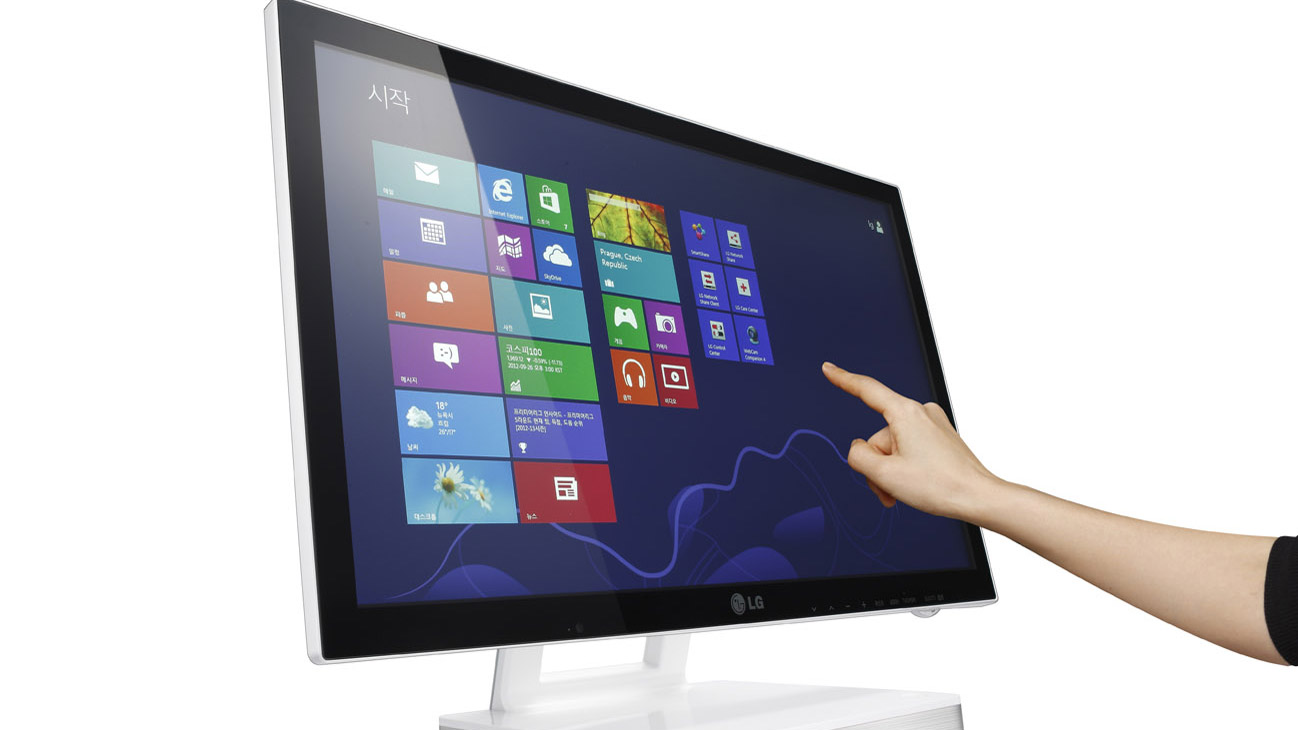 The Future Of Touchscreens Revealed Bigger Cheaper Bendier Touch Screen Technology Working Techradar
